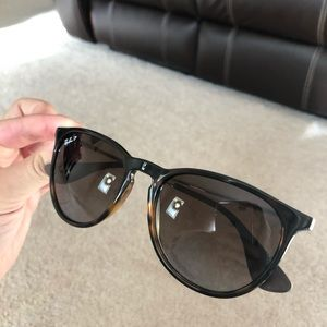 Ray Ban Polarized Erika sunglasses with case